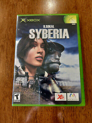 Syberia (Microsoft Xbox, 2003) MINT COMPLETE! MAIL IT TOMORROW!