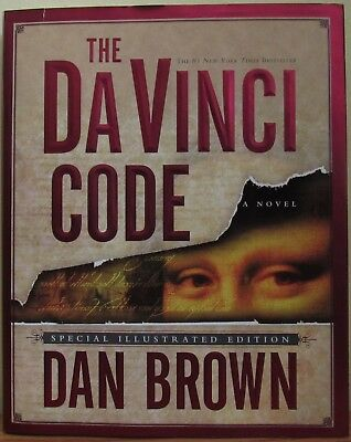 """Dan Brown's """"The Da Vinci Code"""" Special Illustrated First Edition (Hardcover)"""