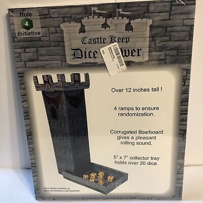 CASTLE KEEP DICE Tower, 2 Castle Wall DM Screens with