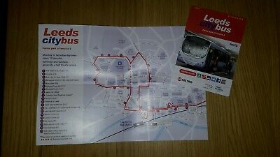 BUS TIMETABLE LEAFLET - Leeds City Transport - New Service