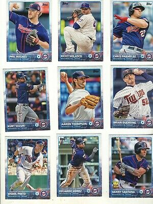 Minnesota  Twins Lot of 27 Baseball Cards Vintage & Recent See 3 scans