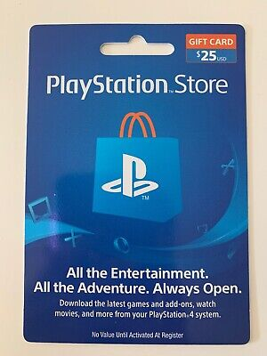 PlayStation Store Gift Card 25.00$