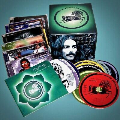 CAPITOL 8-Disc Box: George Harrison, The Dark Horse Years 1976-1992, USA 2004 NM