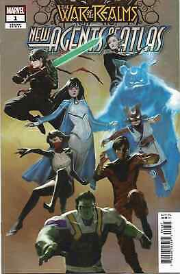 War Of The Realms New Agents  Atlas 1 1:25 Pyeong Jun Park Variant