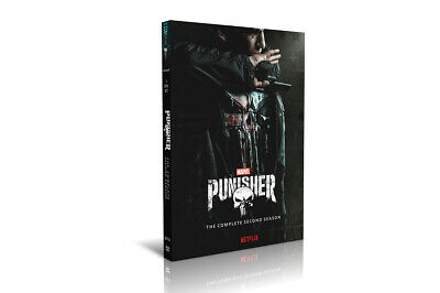 The Punisher Season 2(DVD,3-Disc Set) Free shipping NEW