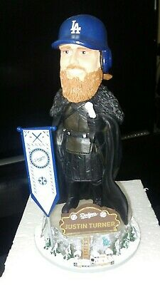 LA Dodgers Justin Turner Game of Thrones MLB exclusive bobblehead #'d/2019