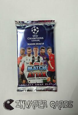Topps Match Attax UEFA Champions League Season 2018/2019 18/19 Card Pack Packet