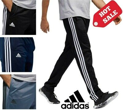 NEW Adidas Men's Game Day Pants with 3 Stripes VARIETY OF COLORS & SIZES