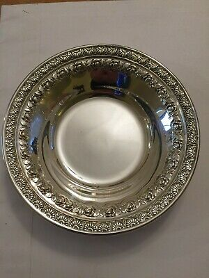 Vintage Wallace 6 inch Silver Plate Dish #N4232