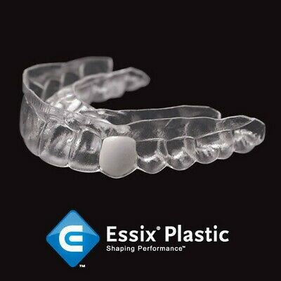 Temporary Replacement (2) teeth in Crystal Clear Retainer, for Upper OR Lower