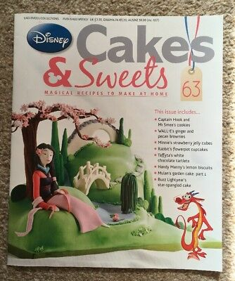 Disney Cakes & Sweets Magazine Issue 63 (MAG ONLY)