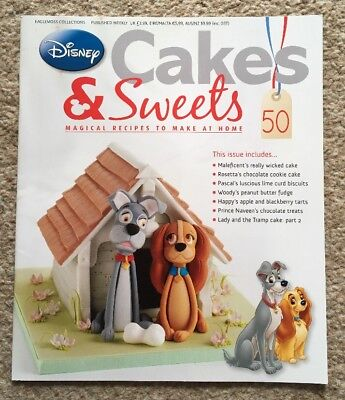 Disney Cakes & Sweets Magazine Issue 50 (MAG ONLY)