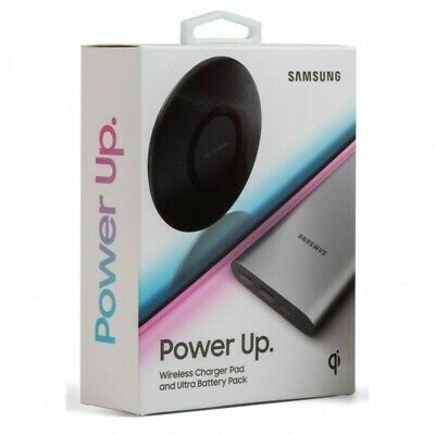 Samsung Official Power Up Bundle 10,000mah Power Bank and Wireless Charging Pad