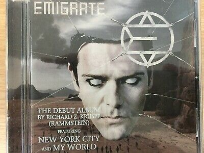 EMIGRATE - Self Titled S/T CD 2007 Motor Music Excellent Cond! Rammstein