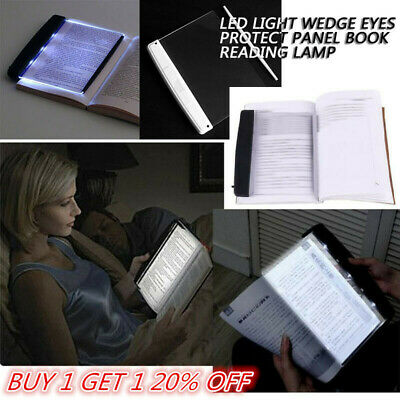 Light Book Lightwedge Panel LED Reading Book Flat Plate Portable Light Panel AM