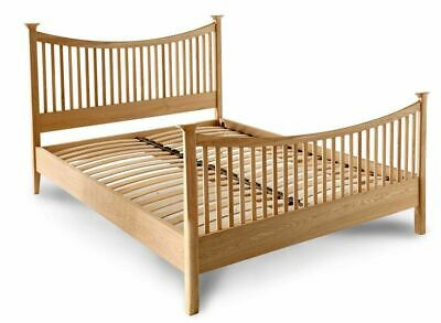 New Contemporary Solid Oak King Size Bed Bedstead *Ex John Lewis Essence*