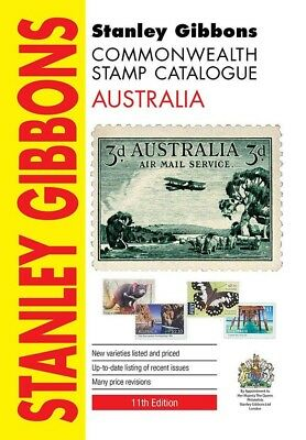 Stanley Gibbons Australia Stamp Catalogue 11th (latest) ed, includes Norfolk Is!