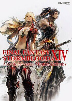 FINAL FANTASY XIV STORMBLOOD Art of the Revolution Western Memories Art Book F/S