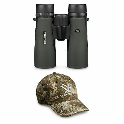 Vortex Optics New 2016 Diamondback 2 10x42 Roof Prism Binoculars with FREE Hat