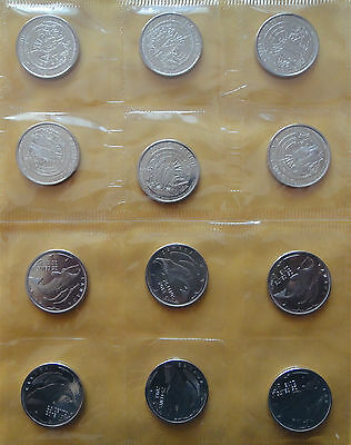 2013 Canada 25-Cents 12-PACK  100th Anniversary  Arctic Expedition. (NO TAX)