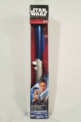 Star Wars The Force Awakens Rey (Starkiller Base) Electronic Lightsaber Blue