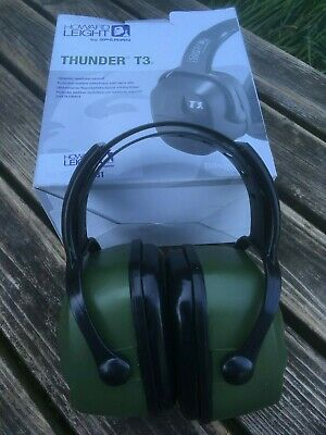Honeywell Howard Leight 1010970 Thunder T3 Dielectric Comfort ear Defenders Army