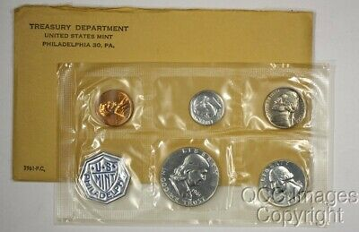 1961 US Proof Set / Original Packaging / Nice Envelope, No Stickers or Writing