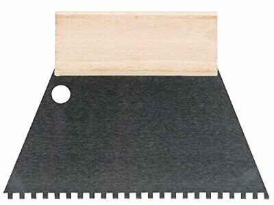 TOOLLAND he924180 Spatule à dents 4 mm x 4 mm 180 mm de largeur (5ug)