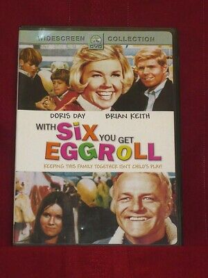 Doris Day In Six You Get Eggroll....1968 Comedy With Brian Keith..new, Sealed