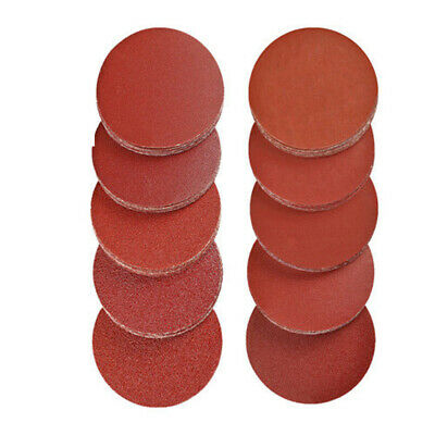 200 Pieces 2 Inch Sanding Polish Discs Pad Kit For Drill Grinder Rotary Tools