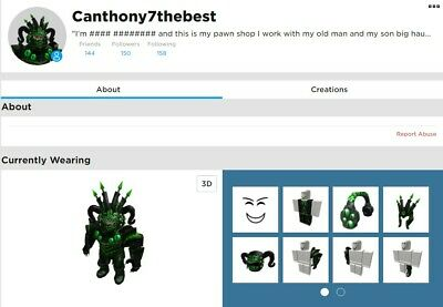 👷VERY RARE 2010 ROBLOX ACCOUNT WITH BC Comes With 150 Robux