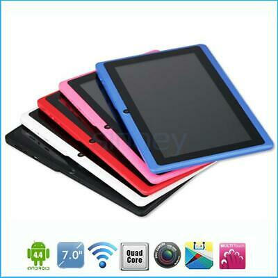 7Inch Android 4.4 Tablet PC Quad Core USB2.0 WiFi Camera Kids Children Bundle