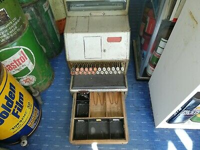 VINTAGE WORKING UNIVERSAL CASH REGISTER SHOP TILL 1950s 1960s?