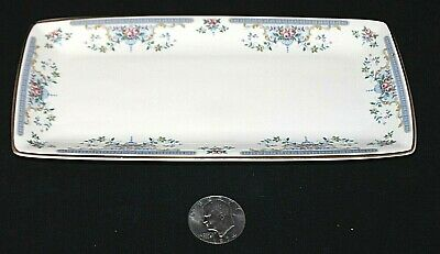 Vintage ROYAL DOULTON Juliet H5077 Large Sandwich Tray DISCONTINUED England EXCL