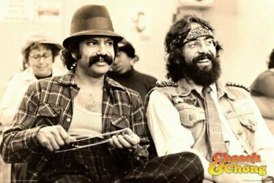 Cheech and Chong Chill Drug Culture Poster 36x24