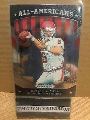 2019 Panini Prizm Draft Picks All-Americans #18 Baker Mayfield 👀👀