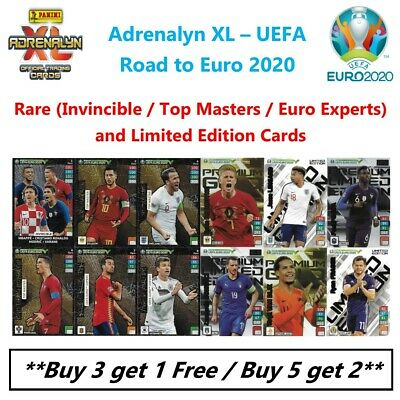 Panini Adrenalyn XL - Road to UEFA Euro 2020: Rare & Limited Edition Cards