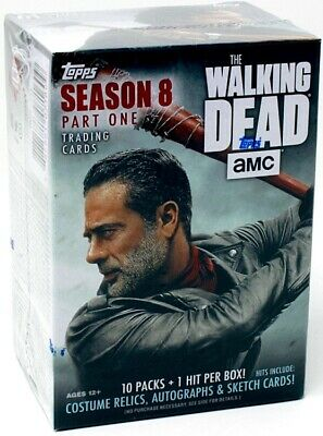 2018 Topps The Walking Dead Season 8 Trading Cards Blaster Box Blowout Cards