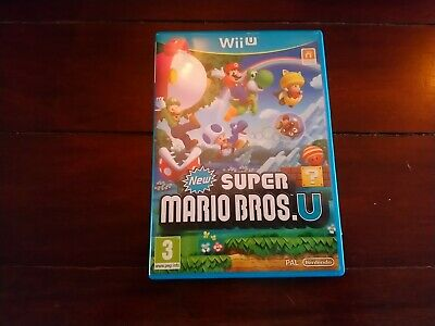 New Super Mario Bros for Nintendo Wii U UK pal