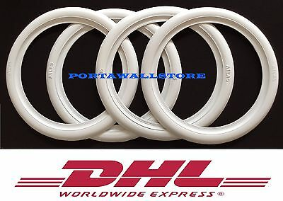 """19"""" Tire accessories white wall universal Wheels tyre insert trim set of4"""
