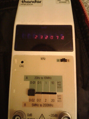 Thandar Pocket Frequency Meter LED