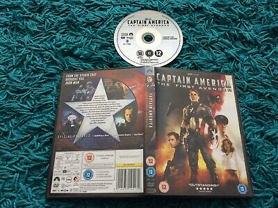 Captain America - The First Avenger DVD 2011 Chris Evans Red Skull Toby Jones