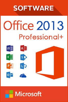 Office 2013 Professional P32/64 Bit 1PC Product Activation Key + Download Link