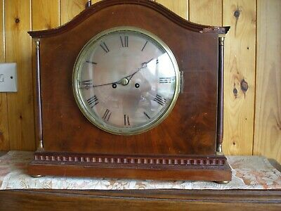 Twin Fusee Westminster Chime Clock.