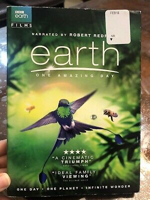 Earth: One Amazing Day (DVD, 2018) *New*
