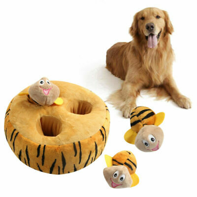Carina Morbido Bee Squeaky Cane Toys per Small Dogs Plush Cani Pet Accessorio