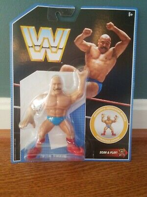 WWE Mattel Iron Sheik Retro Figure Series 8 WWF