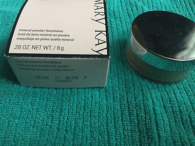 Mary Kay Mineral Powder Foundation - Beige 2 - New in box - Free Shipping