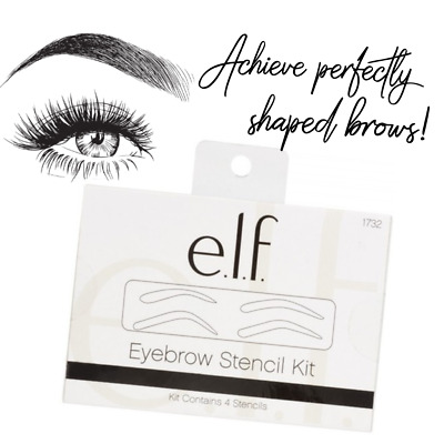 ELF Makeup EYEBROW STENCIL KIT 4 Shaping Templates for PERFECT Brows