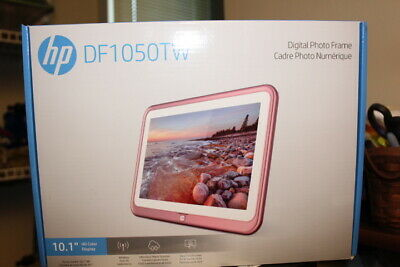 iDeaUSA HP 10.1 inch WiFi Photo Frame DF1050TW ROSE GOLD